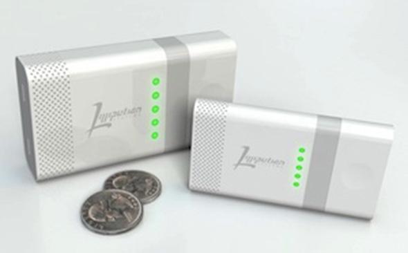Externer USB-Akku mit Brennstoffzelle. Foto: Lilliputian Systems