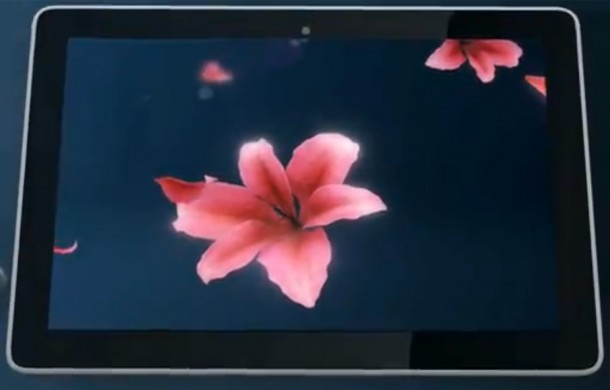 Das Huawei Mediapad 10 soll mit einem Full HD Display auf den Markt kommen. Foto: youtube.com.