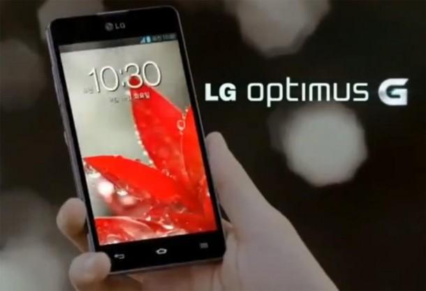 LG hat den Werbespot für sein neues Smartphone das LG Optimus G gezeigt. Foto: Youtube.