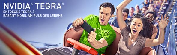 Nvidia Tegra 3 bietet mobile Power für Smartphones und Tablets. Foto: Nvidia.