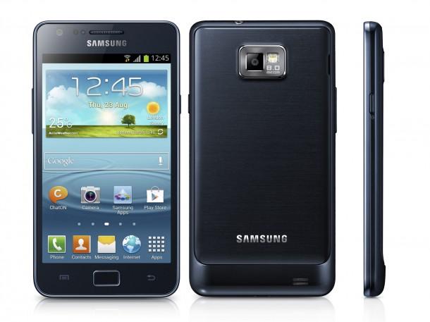 Designtechnisch wurde beim Galaxy S2 Plus nichts geändert. (Foto: Samsung)