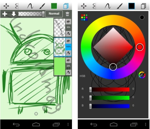 Sketchbook Mobile Android Screenshot 2