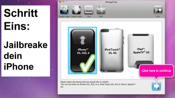 Schritt 1: Jailbreake dein iPhone.