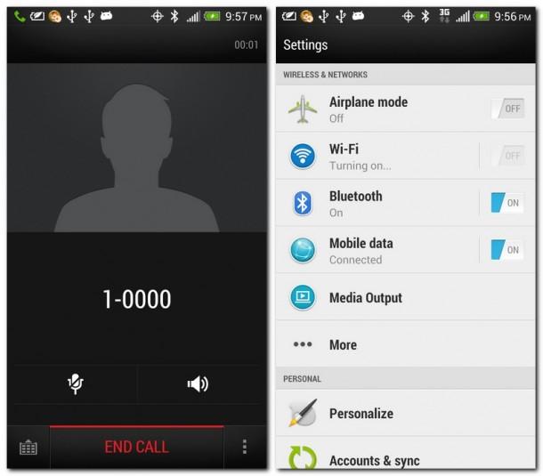 HTC hat die Sense-Oberfläche überarbeitet und ansprechend gestaltet.