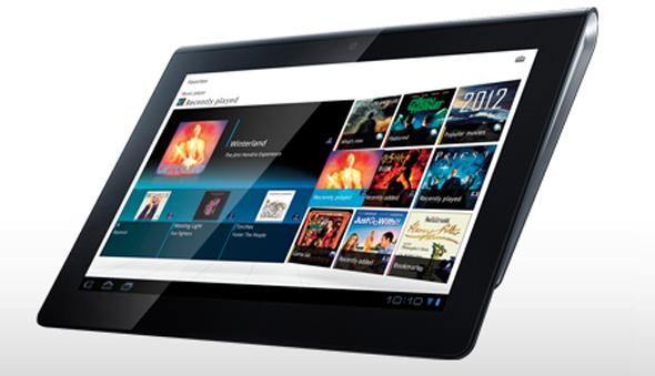 Das Sony Tablet S. Foto: Sony