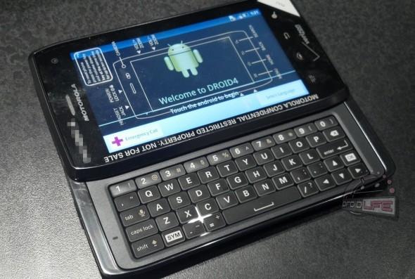 So sieht das neue Droid 4 von Motorola aus. (BQ: droid-life.com)