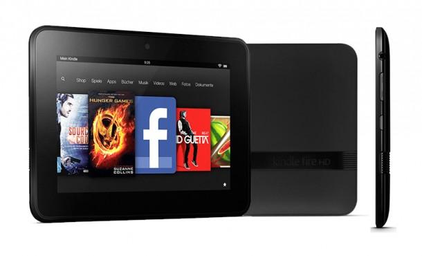 Das 7 Zoll große Kindle Fire HD wird auch bei uns erhältlich sein. (Foto: Amazon)