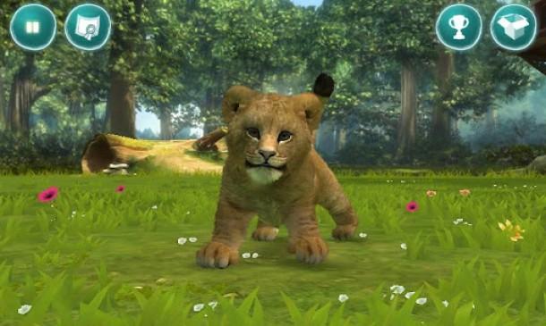 Das Spiel Kinectimals bringt liebevolle Tierbabies auf das Android Smartphone oder Tablet.