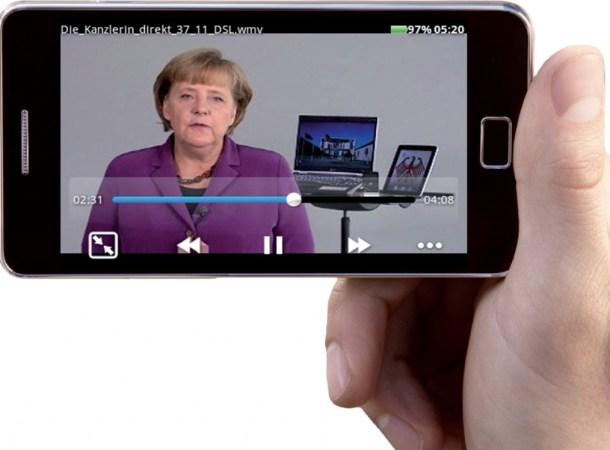 Die kostenlose App Mobo Player kann so gut wie alle Videodateien abspielen.
