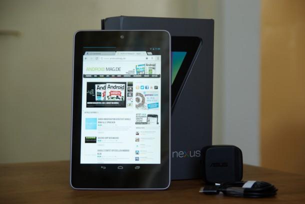 Der Nachfolger des Nexus 7 hat möglicherweise ein 1080p Display und kommt schon im Mai.