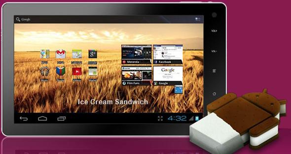 Das Novo7 ist ein Tablet, das für 100 Dollar zu haben sein soll. (Foto: Novo7)