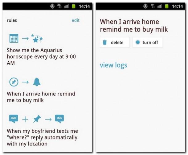 Mit der Microsoft App On X lassen sich Vorgänge auf dem Smartphone automatisieren. Foto: Microsoft.