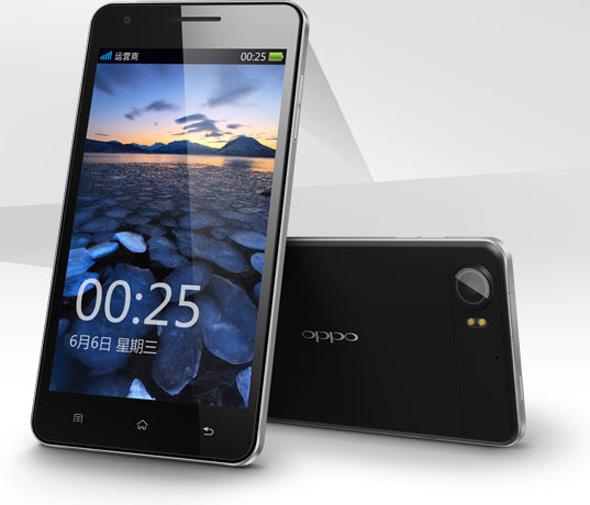 Das Oppo Finder ist nur 6,65 mm dick und ist dadurch das derzeit dünnste Smartphone auf dem Markt. Foto: Oppo.com