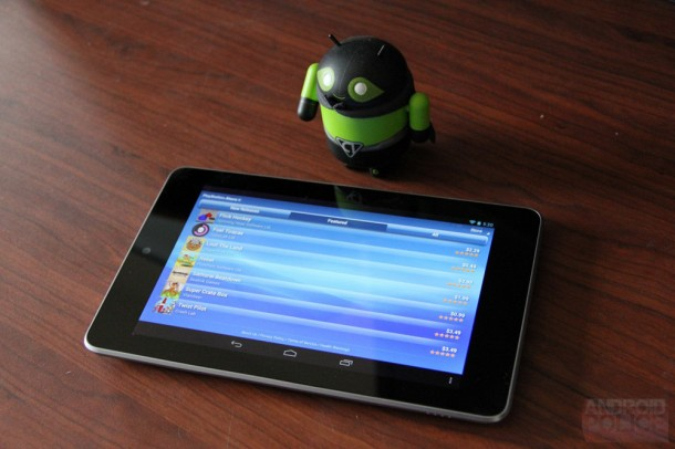 Playstation Mobile auf einem gerooteten Android Tablet. Foto: Android Police.