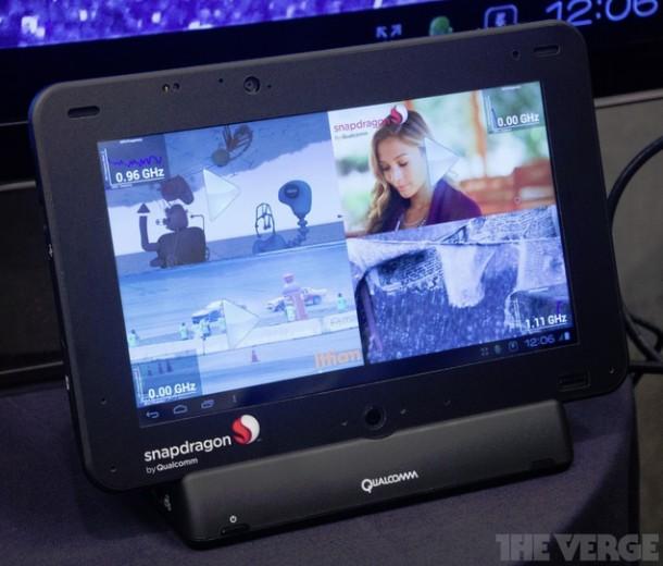 Das Qualcomm Developer Tablet kann durch die hohe Prozessorleistung überzeugen. (Foto: TheVerge)
