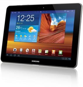 Das Galaxy Tab 10.1 wird trotz Einstweiliger Verfügung ab 13.8. verkauft werden; Foto: Samsung