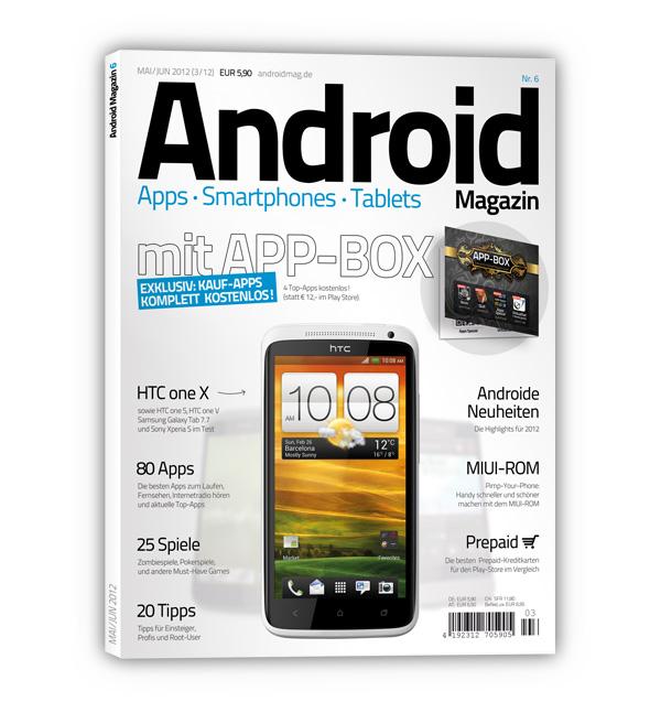 Titelblatt Android Magazin Nr 6