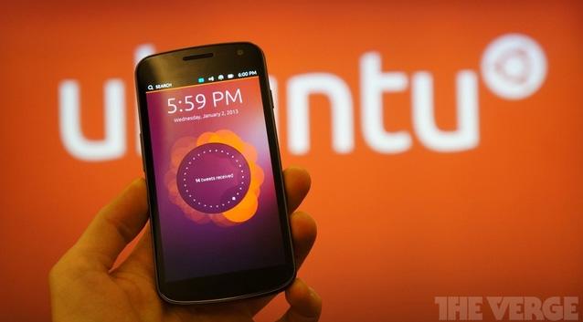 Die ersten Smarpthones mit Ubuntu Phone sollen noch dieses Jahr im Oktober erscheinen. Foto: TheVerge.com.