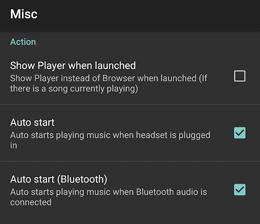 jetAudio Auto Start Headset