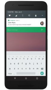 android n notificaties klein