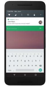 android n notificaties klein