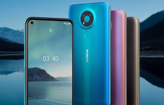 new budget smartphone accompanied by Nokia 3.4