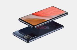 Renders Samsung Galaxy A72 5G
