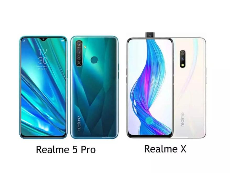 Realme 5 Pro vs Realme X