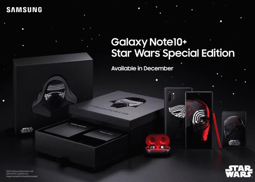 Samsung Galaxy Note10 + Edisi Star WArs