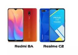 Redmi 8A vs Realme C2, Perbandingan HP Harga Satu Jutaan