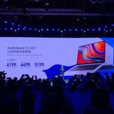 RedmiBook 13 Di Rilis Harga Mulai dari 8 jutaan