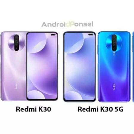 Perbedaan Spesifikasi Lengkap Redmi K30 vs K30 5G, Layar 120Hz dan kamera quad 64MP