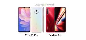 Perbandingan Vivo S1 Pro vs Realme 5s – HP Dengan Sensor Kamera 48MP dan Snapdragon 665