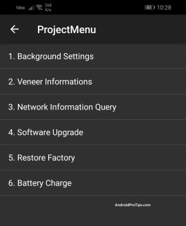 *#*#2846579#*#* secret code project menu