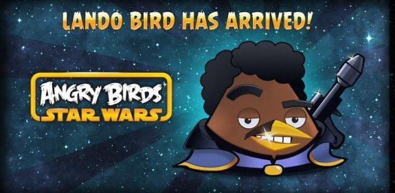 Angry Birds Star Wars Lando Bird