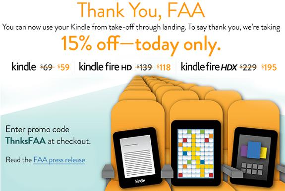 Amazon KIndle-FAA-offer