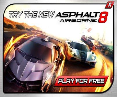 Asphalt 8 Airborne Play for Free