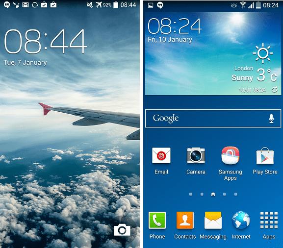 Galaxy S4 kitkat
