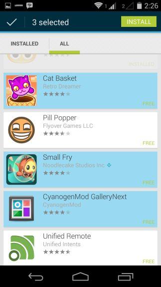 Google Play Store 4.6.16 - Batch Install