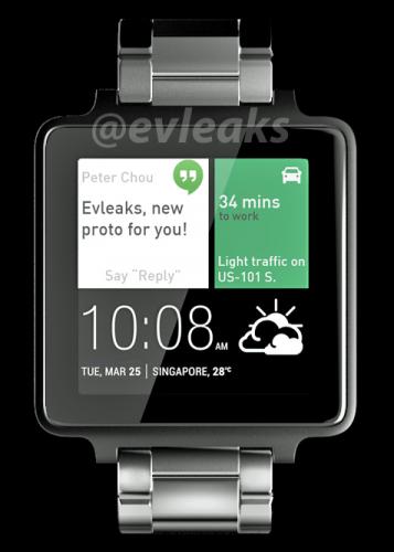 HTC Smartwatch Artist Reproduction