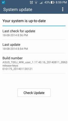 ASUS Zenfone 5 Update OTG Support added build number - ASUS Zenfone 5 gets OTG support via system update