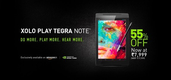 XOLO Play Tegra Note Amazon India