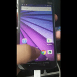 Moto g3 2015 leaked front