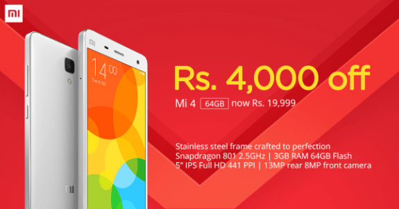 Xiaomi-Mi4-Price-Cut-Now-19999-Rupees