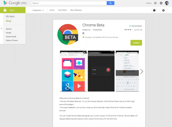 Google-Play-Web-UI