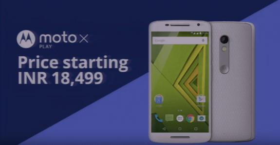 Moto X Play India Launch