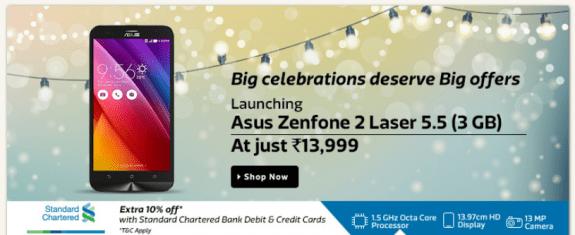 ASUS Zenfone 2 Laser 3GB RAM SD615