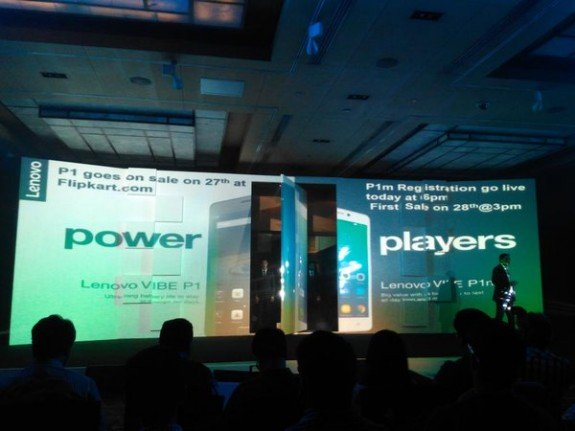 Lenovo Vibe P1 Flash Sale