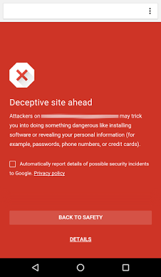 Google Chrome Safe Browsing for Android - Google Chrome adds Safe Browsing for Android devices