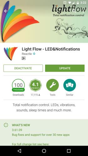 Light Flow - LED&Notifications
